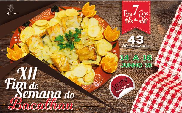 XII Edição do Fim de semana do Bacalhau conta com 43 restaurantes