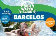 sun water slide anima fim de semana em barcelos