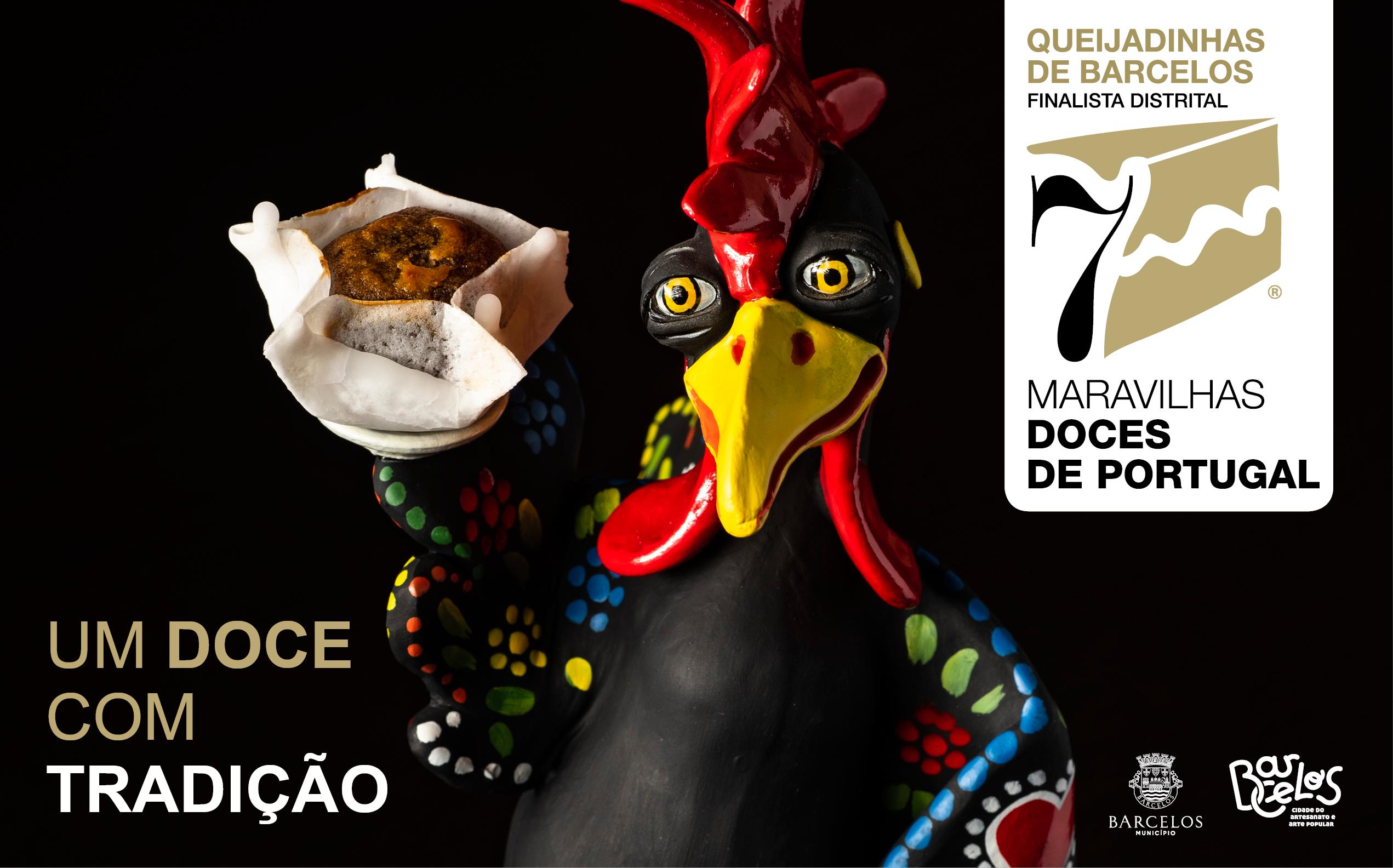 Queijadinhas de Barcelos pré-finalista das