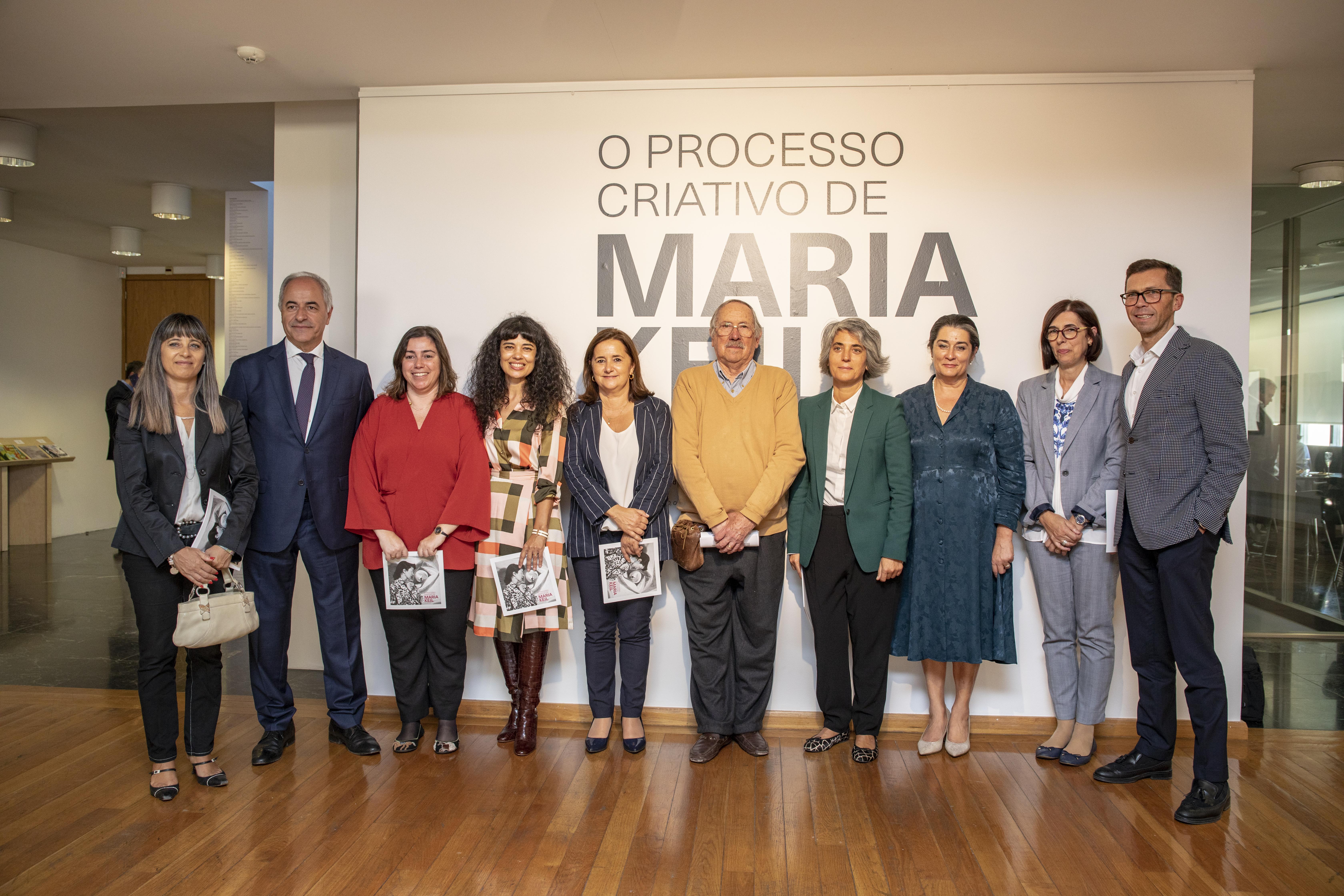 Ministra da Cultura inaugura exposição na Galeria Municipal de Arte