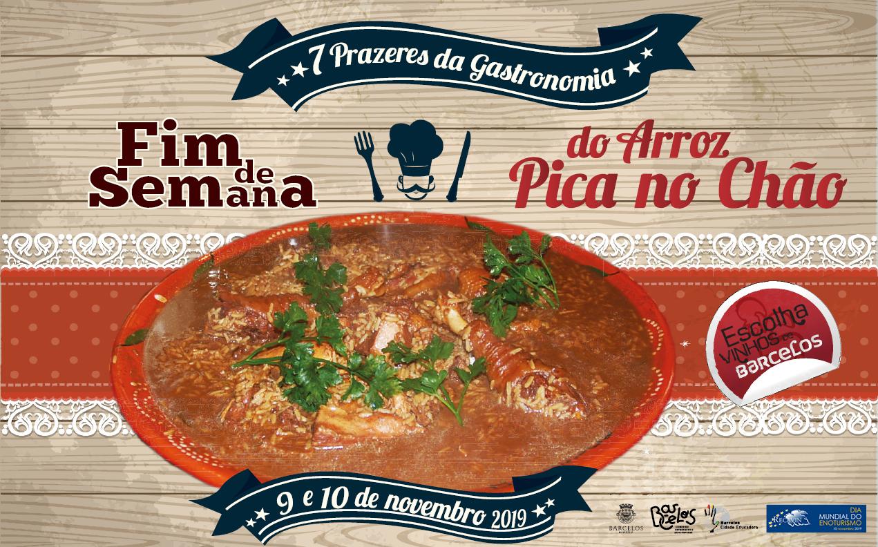 Barcelos promove fim de semana gastronómico do arroz pica no chão