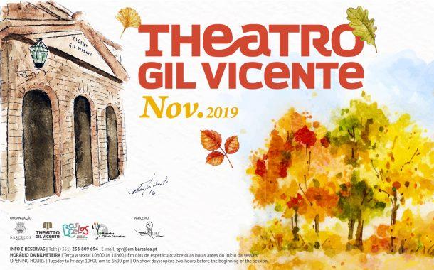 programação cultural de novembro do theatro gil...