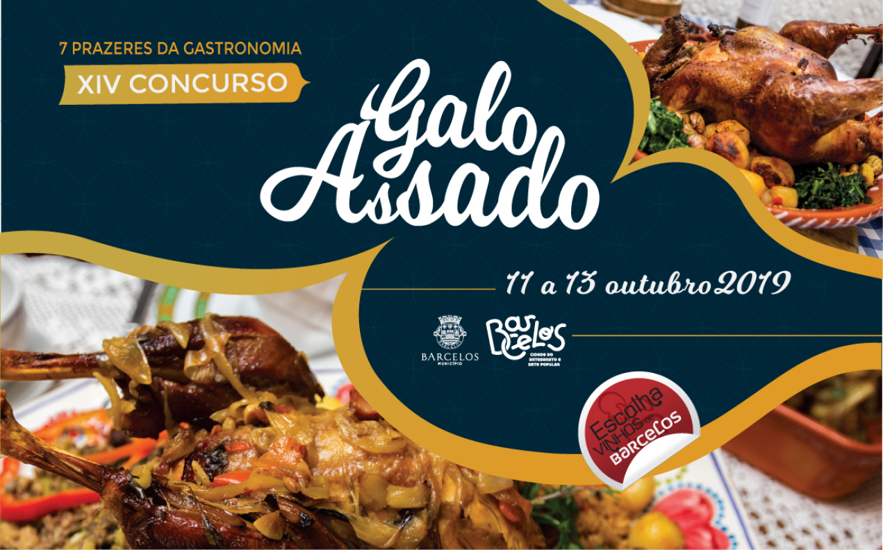 Concurso Galo Assado volta este fim de semana aos restaurantes de Barcelos