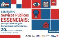 Serviços de Energia e Comunicações Eletrónicas em debate no   Auditório Municipal