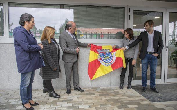 presidente da câmara municipal inaugura requali...