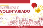 barcelos comemora dia internacional do voluntar...
