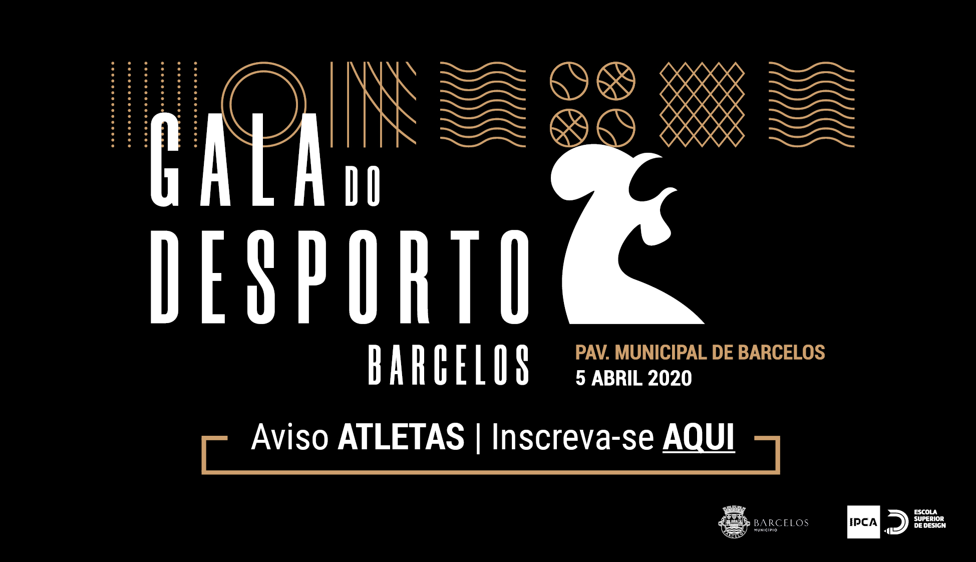 Gala do Desporto de Barcelos 2020 | Aviso – Atletas