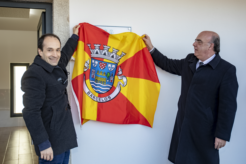 Presidente da Câmara Municipal inaugura Casa Mortuária de Fonte Coberta