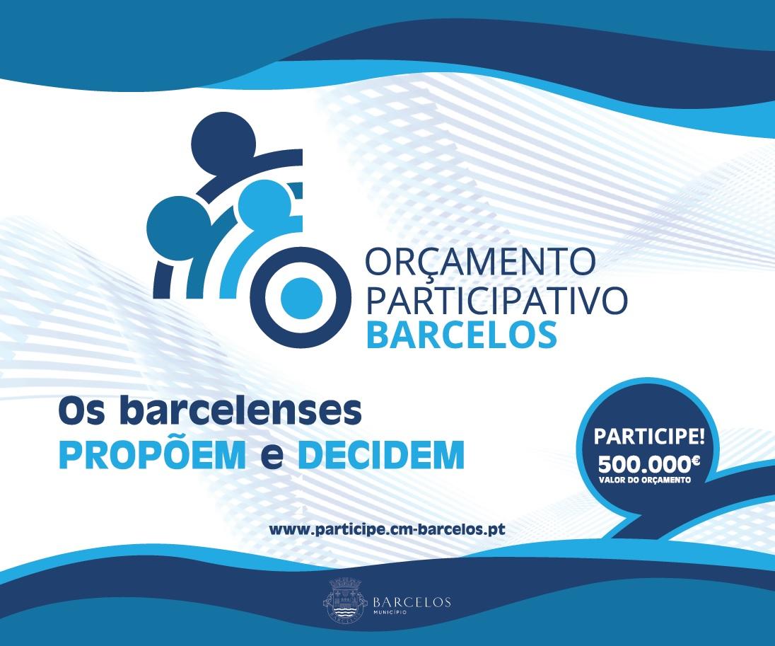 Propostas do Orçamento Participativo de Barcelos em votação de 7 a 21 de fevereiro
