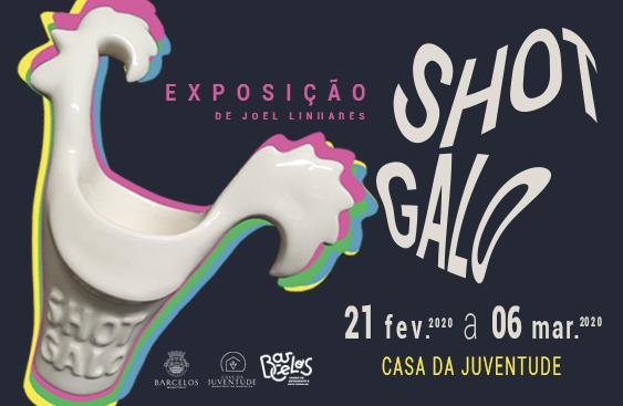 Casa da Juventude recebe exposição 'Shot Galo' de Joel Linhares