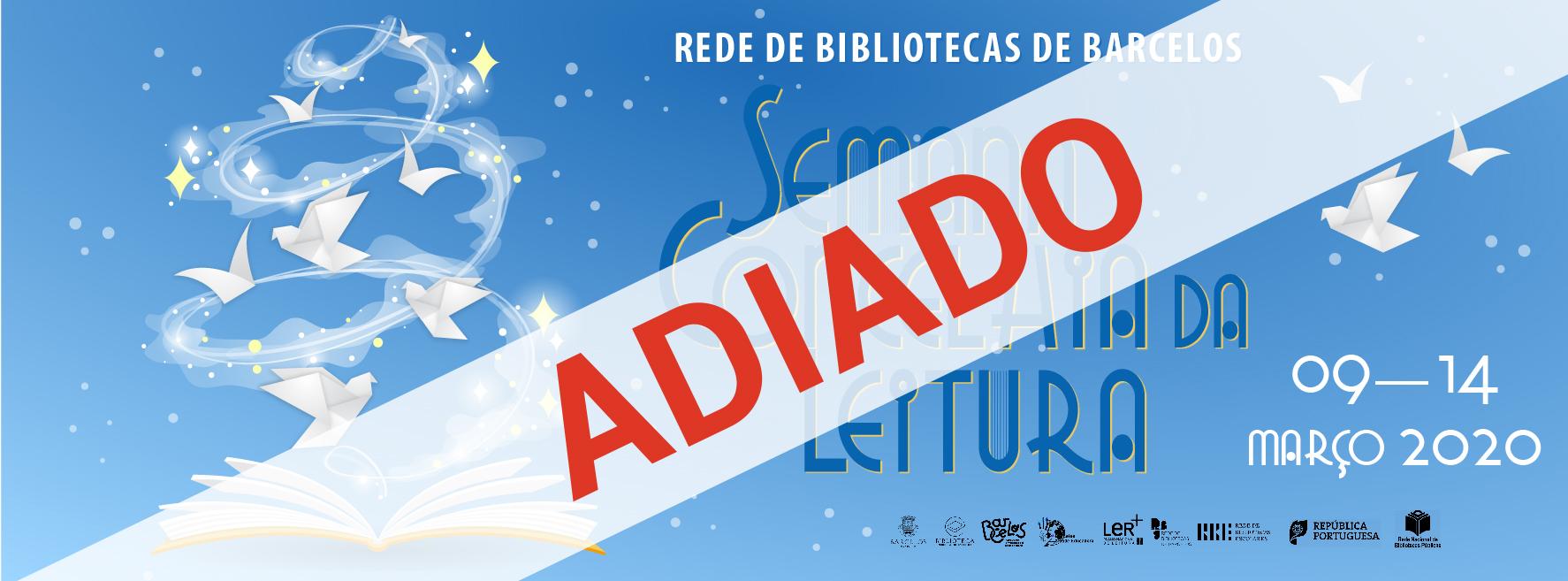 Semana Concelhia da Leitura decorre entre 9 e 14 de março na Biblioteca Municipal e nas Bibliotecas Escolares