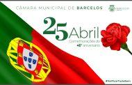 barcelos comemora o 25 de abril