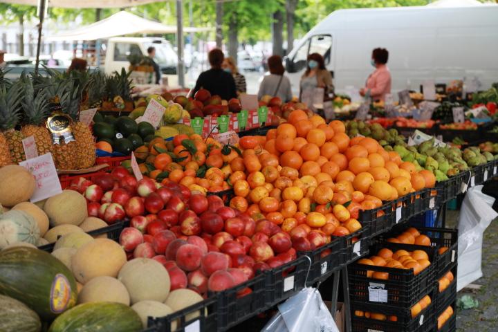 Comerciantes do Mercado no espaço da Feira a partir de amanhã