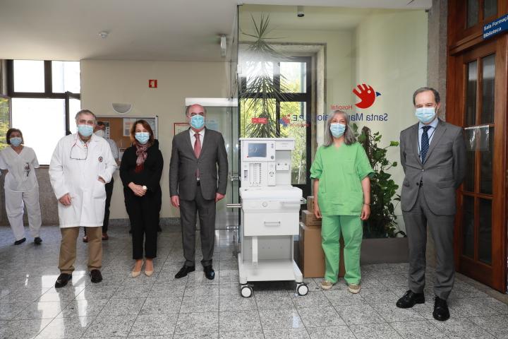 Câmara Municipal oferece equipamentos ao Hospital de Barcelos