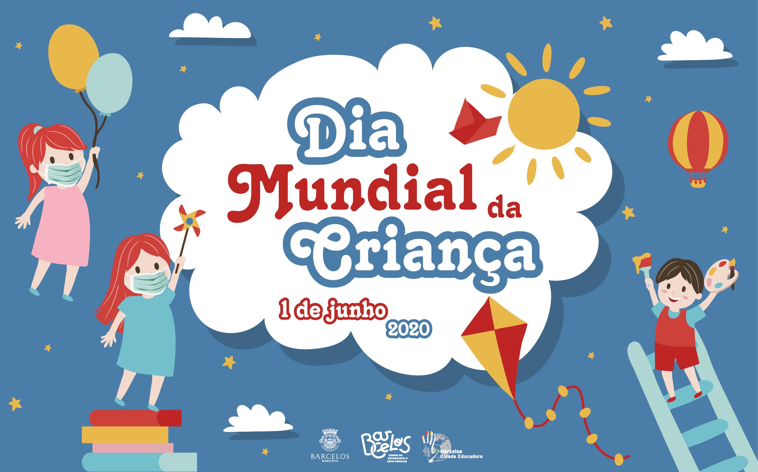 Município de Barcelos celebra Dia Mundial da Criança nos meios digitais