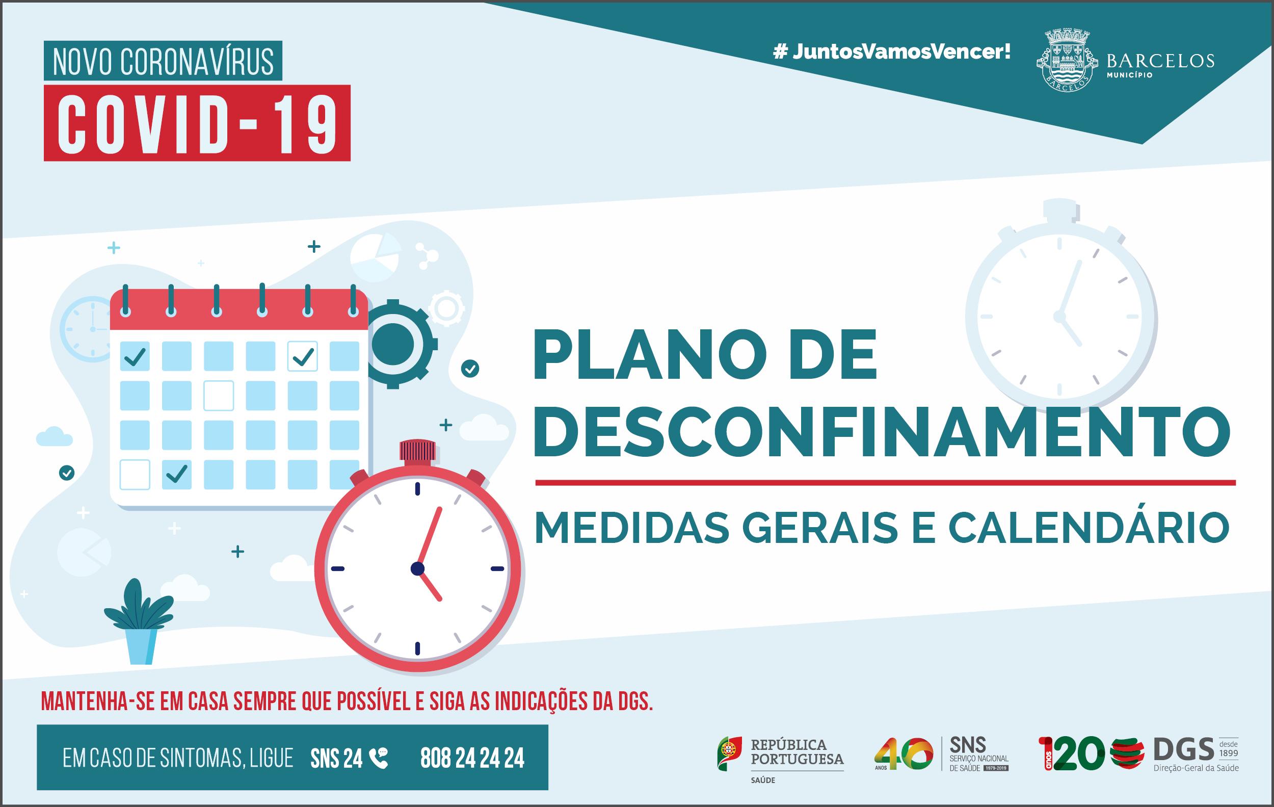 Publicado Decreto que estabelece levantamento de medidas de confinamento no âmbito do combate à pandemia da doença COVID-19