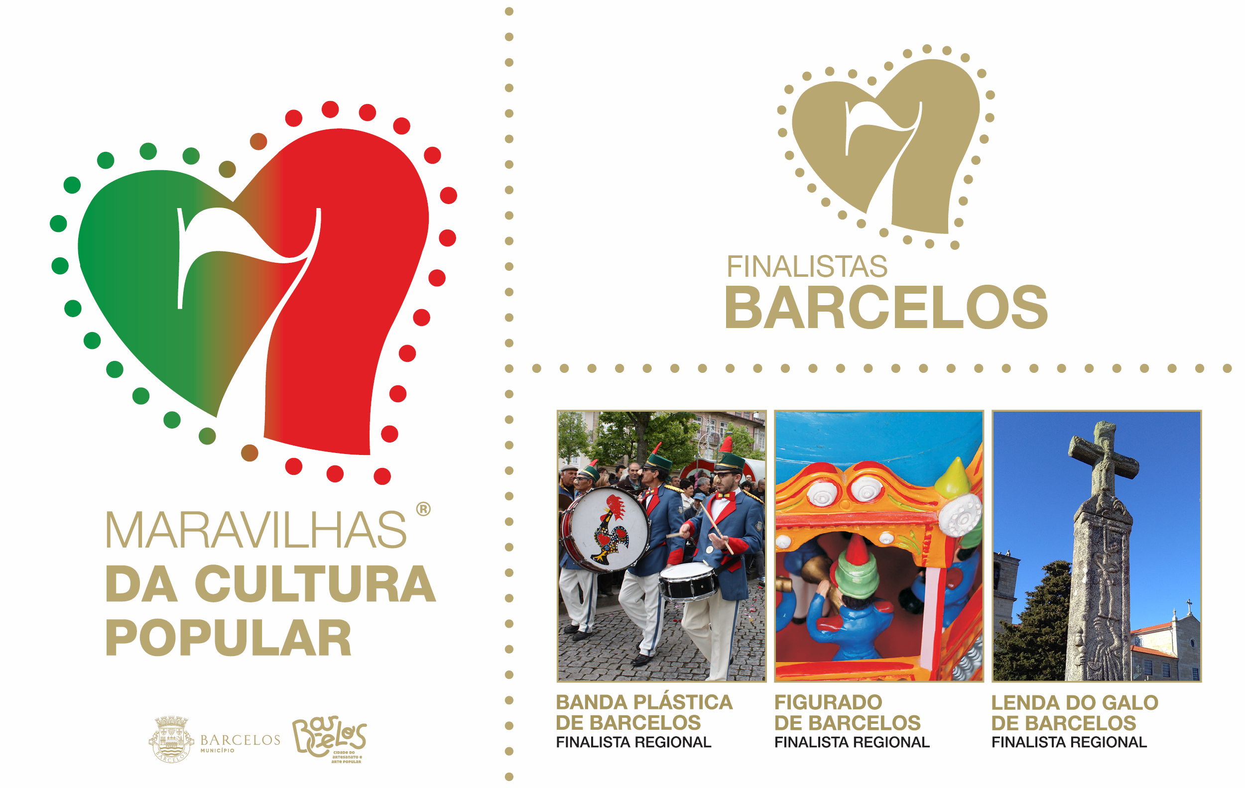 Município de Barcelos finalista em três categorias às 7 Maravilhas da Cultura Popular