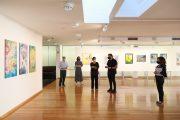 """exposição """"doze d'arte"""" na galeria municipal de..."""