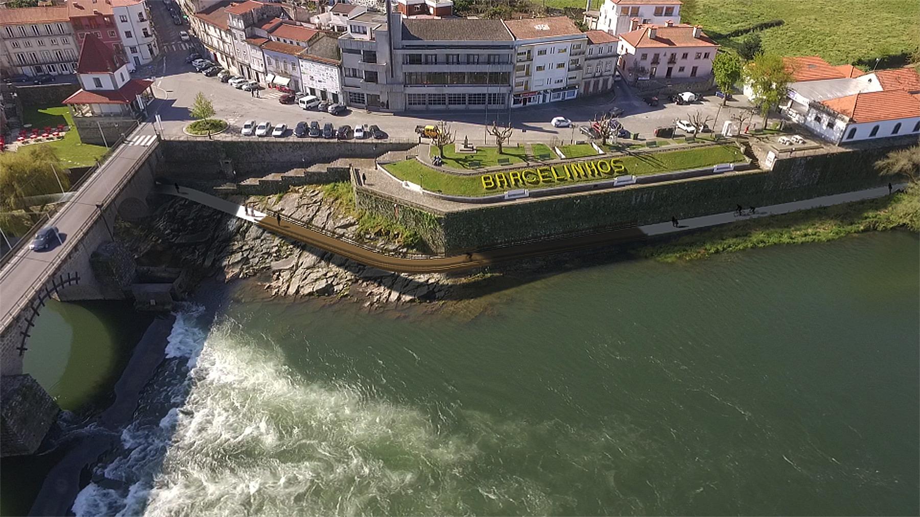 Avança construção do troço da Ecovia entre Barcelinhos e Santa Eugénia