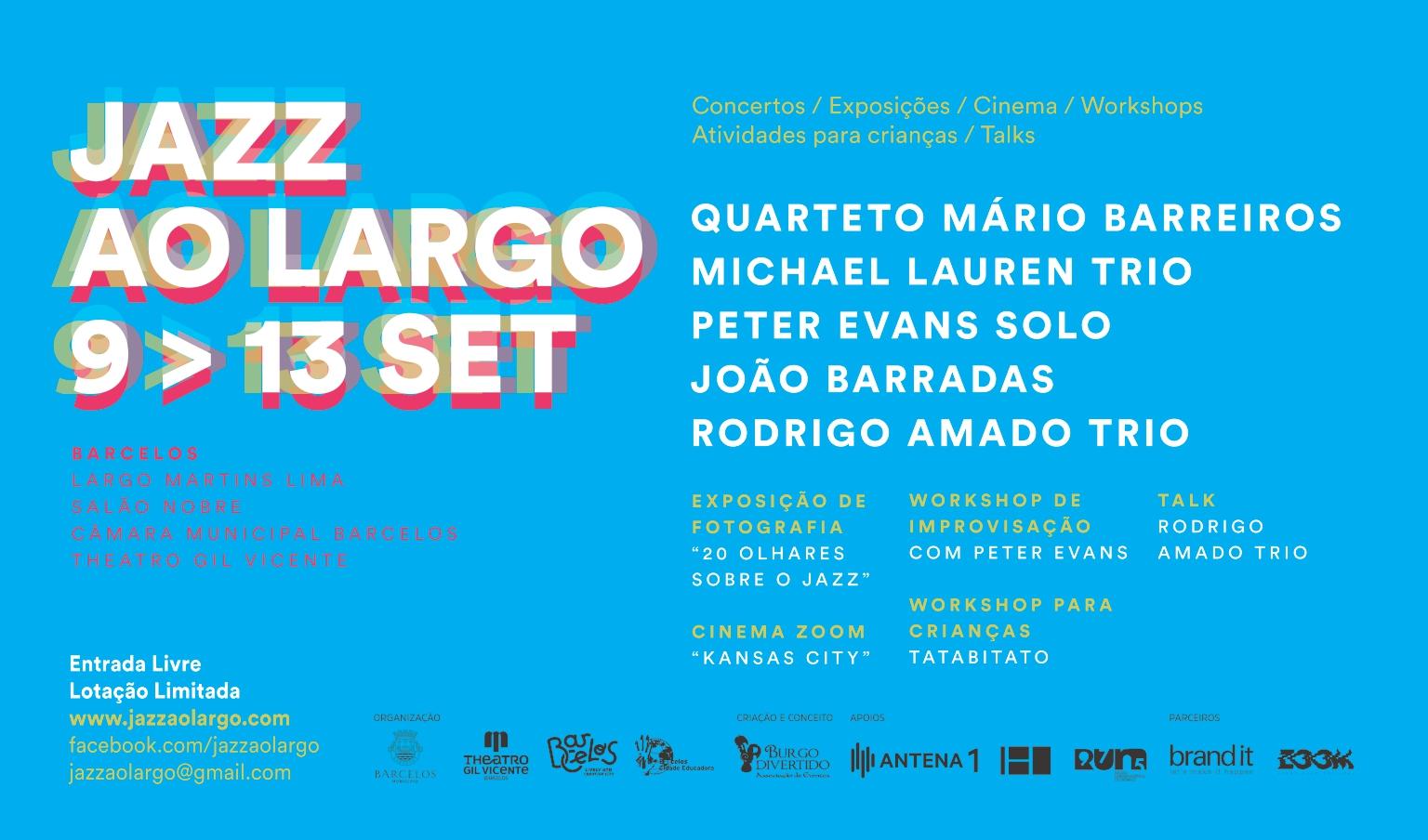 Jazz ao Largo de regresso a Barcelos