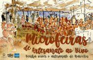 MicroFeiras de Artesanato ao Vivo no Largo da Porta Nova