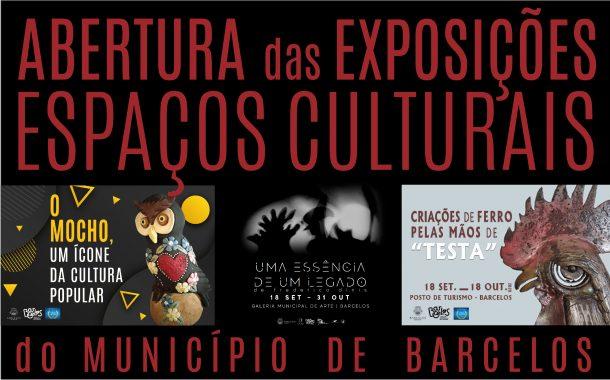 setembro traz exposições aos espaços culturais