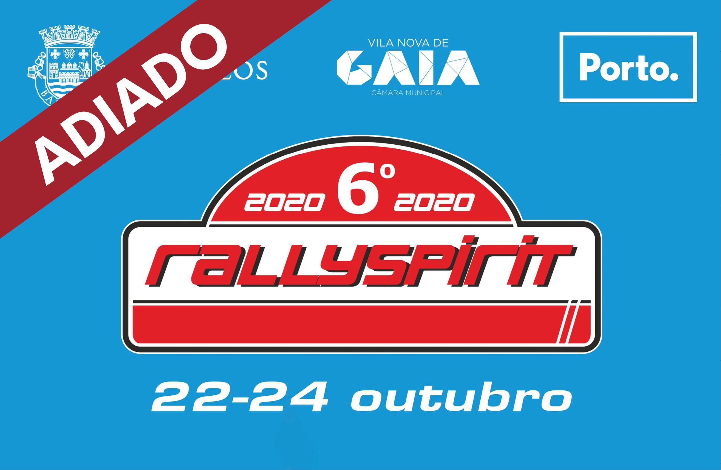 RallySpirit adia edição de 2020