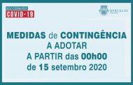 COVID-19  | Conselho de Ministros determinou um conjunto de medidas para mitigar o aumento de casos Covid-19.