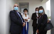 ministra da agricultura inaugurou instalações d...