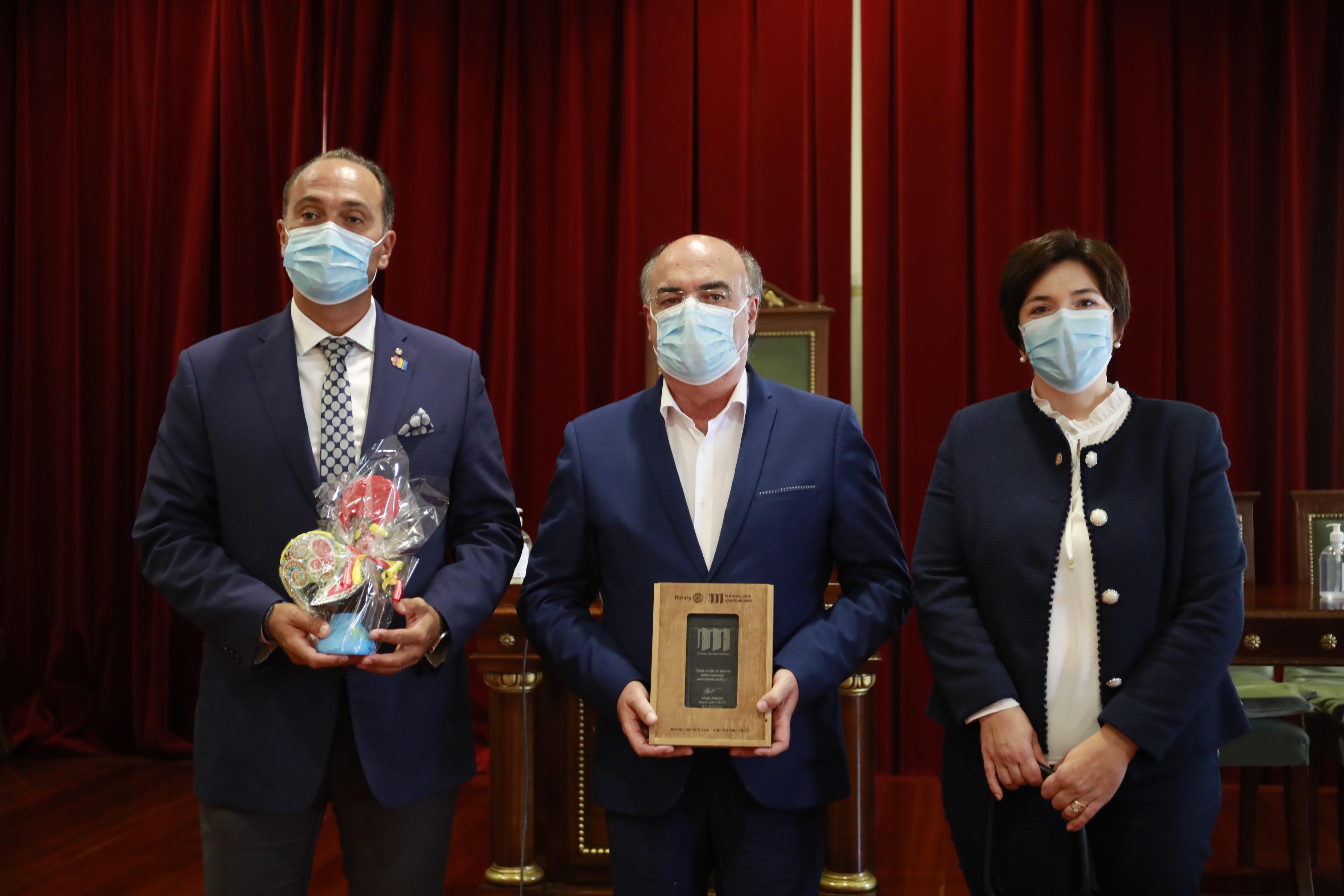 Presidente da Câmara recebeu Governador do Rotary Club