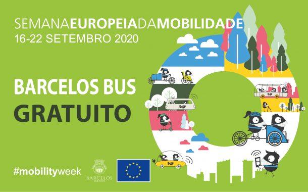 """semana da mobilidade com """"barcelos bus"""" gratuito"""