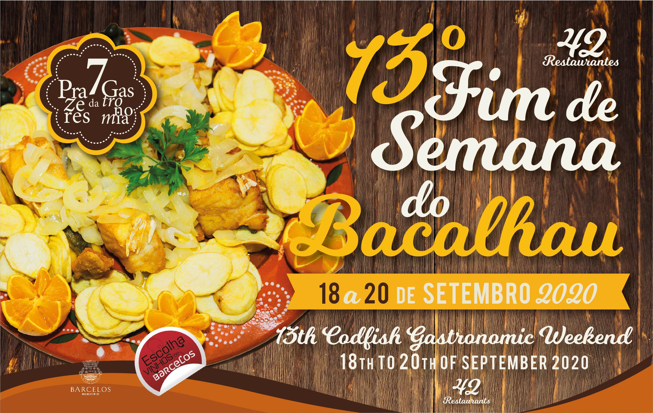 Fins de semana gastronómicos voltam com o Bacalhau