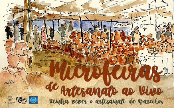 MicroFeiras de Artesanato ao Vivo em setembro no Largo da Porta Nova