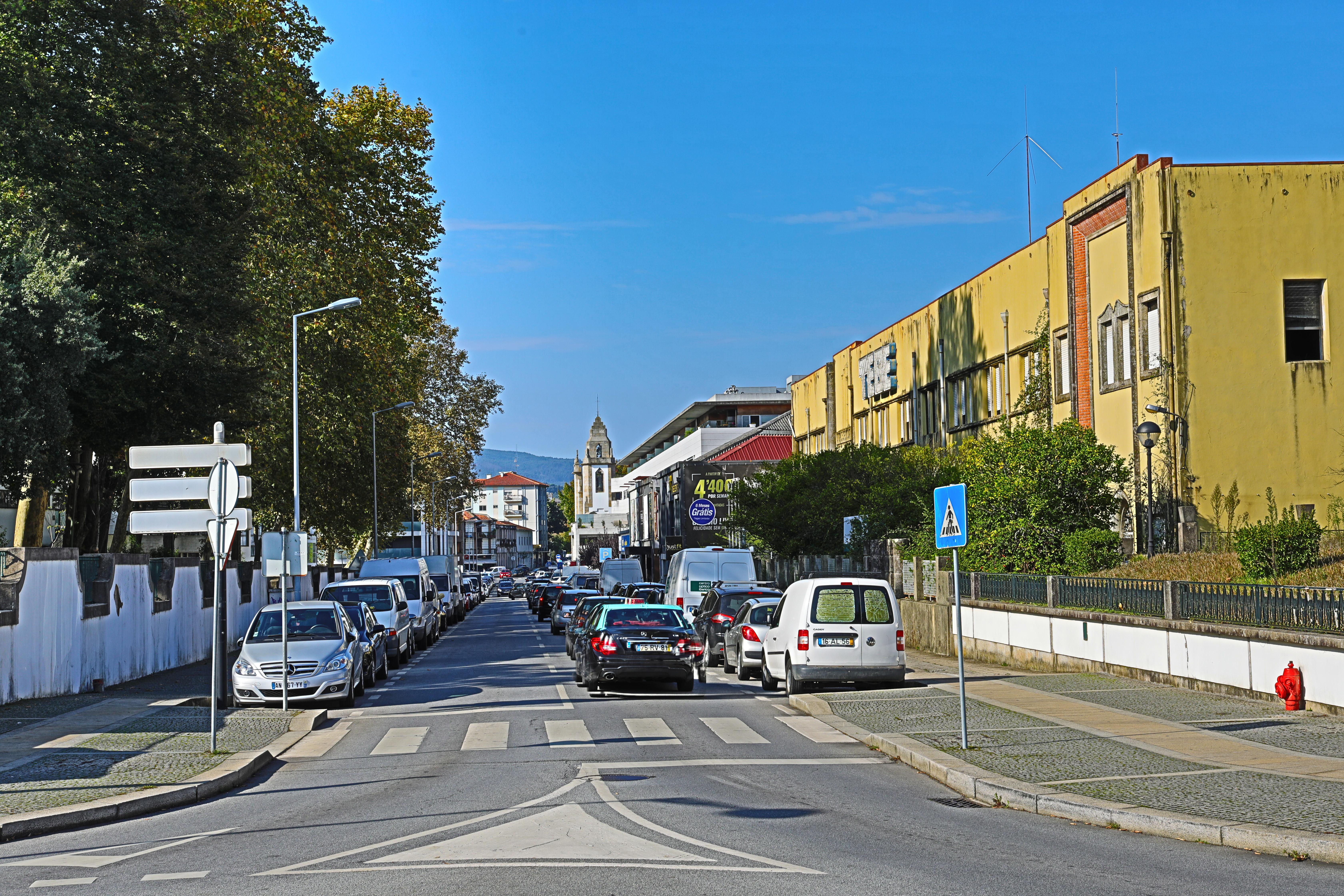 Alterações de trânsito na Rua Cândido da Cunha devido a obras de qualificação