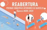 Piscinas municipais interiores reabrem dia 12 de outubro