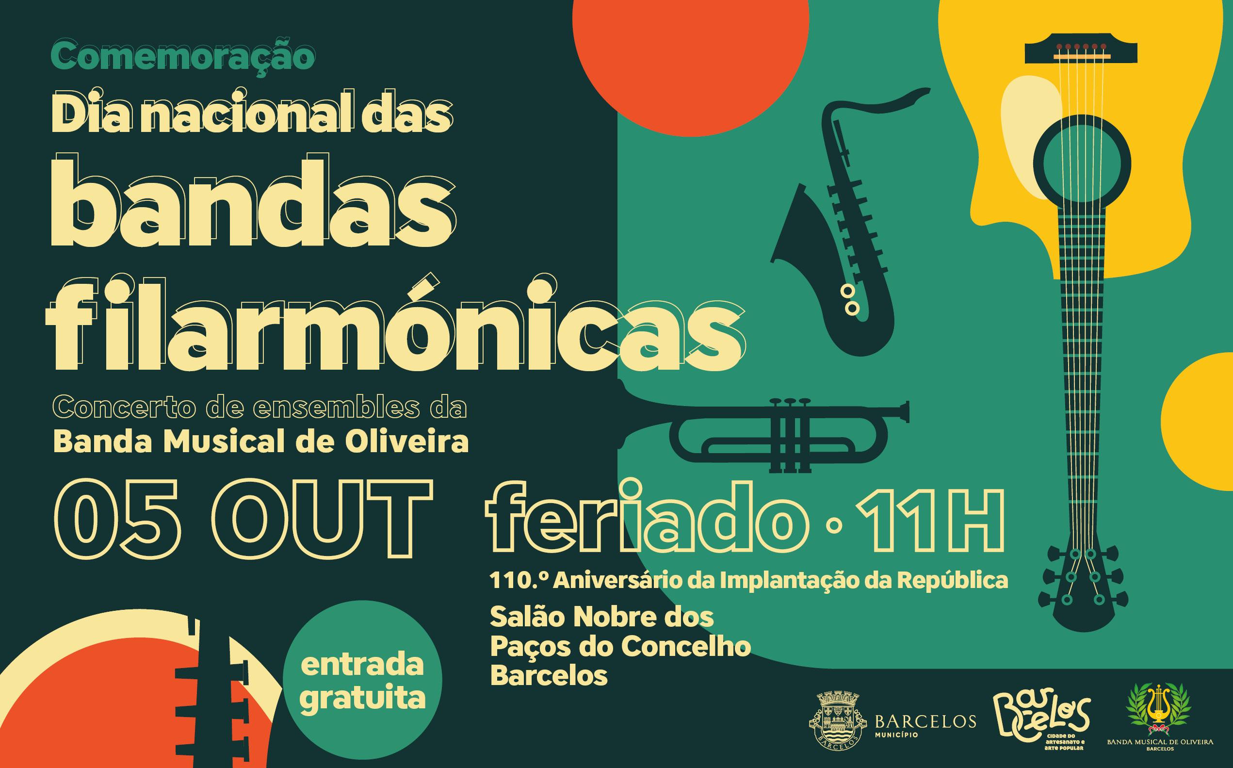 Barcelos comemora Dia Nacional das Bandas Filarmónicas