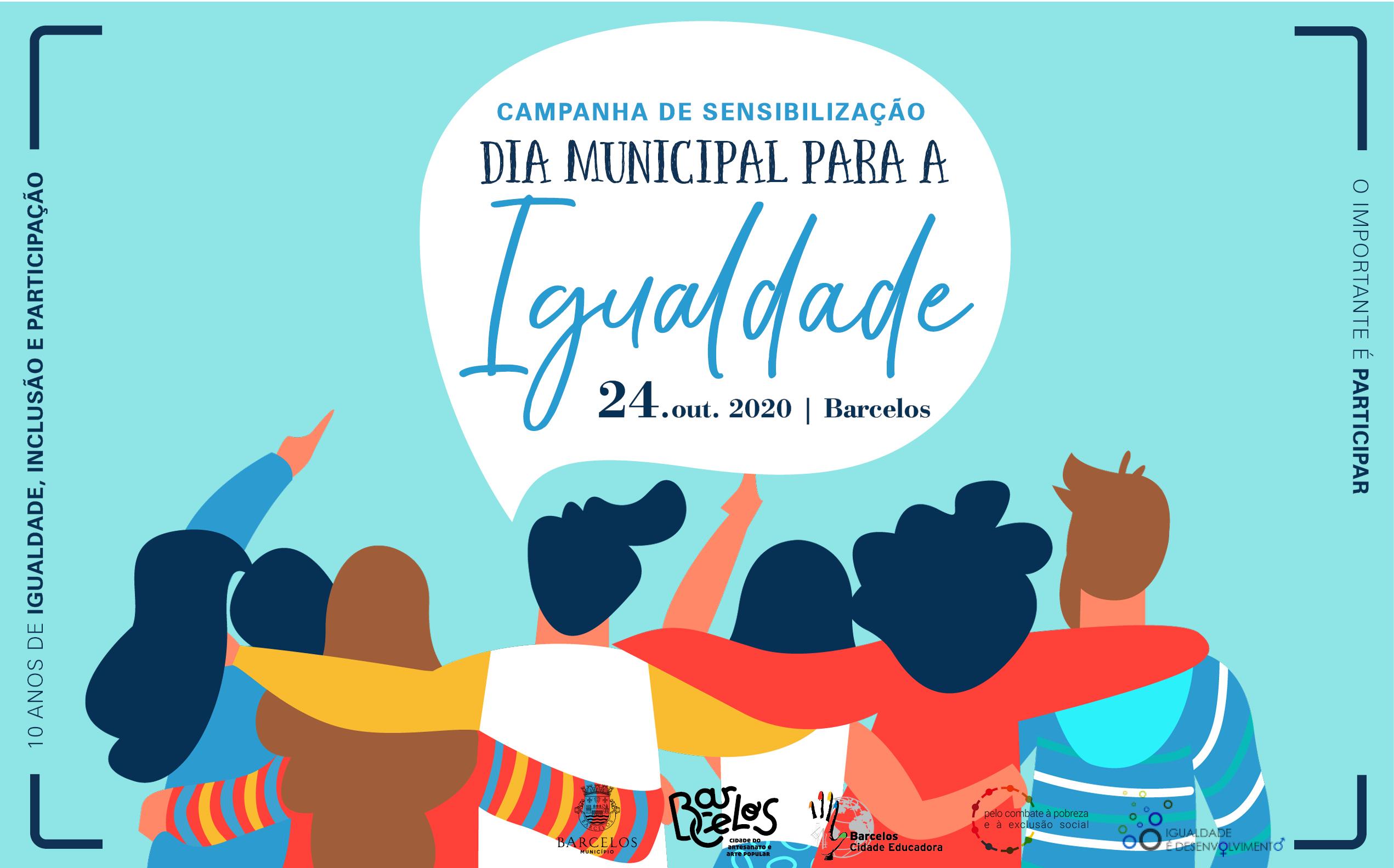 Barcelos assinala o Dia Municipal para a Igualdade