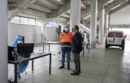 Presidente da Câmara visitou Covid-drive instalado no Estádio Cidade de Barcelos