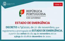 decreto n.º9/2020, de 21 de novembro, que regul...