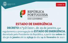 decreto n.º3-d/2021, de 29 de janeiro, que regu...