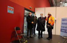 presidente da câmara visitou centro de vacinaçã...