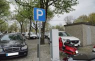 posto de carregamento para veículos elétricos a...