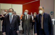 Presidente da ARS Norte e Presidente da Câmara de Barcelos visitaram Centro de Vacinação de Barcelos