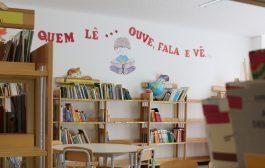 biblioteca do centro escolar da várzea integra ...
