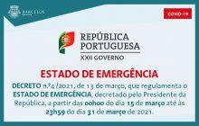 decreto n.º4/2021, de 13 de março, que regulame...