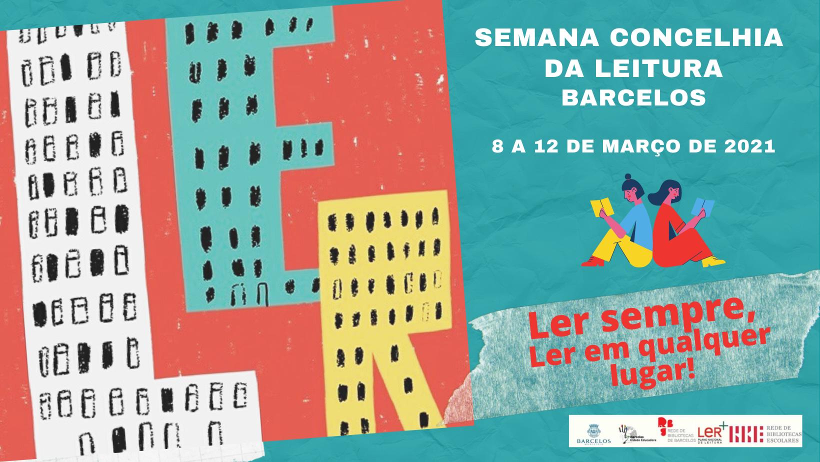 Município de Barcelos realiza a Semana Concelhia da Leitura em versão online