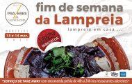 fim de semana da lampreia em take-away