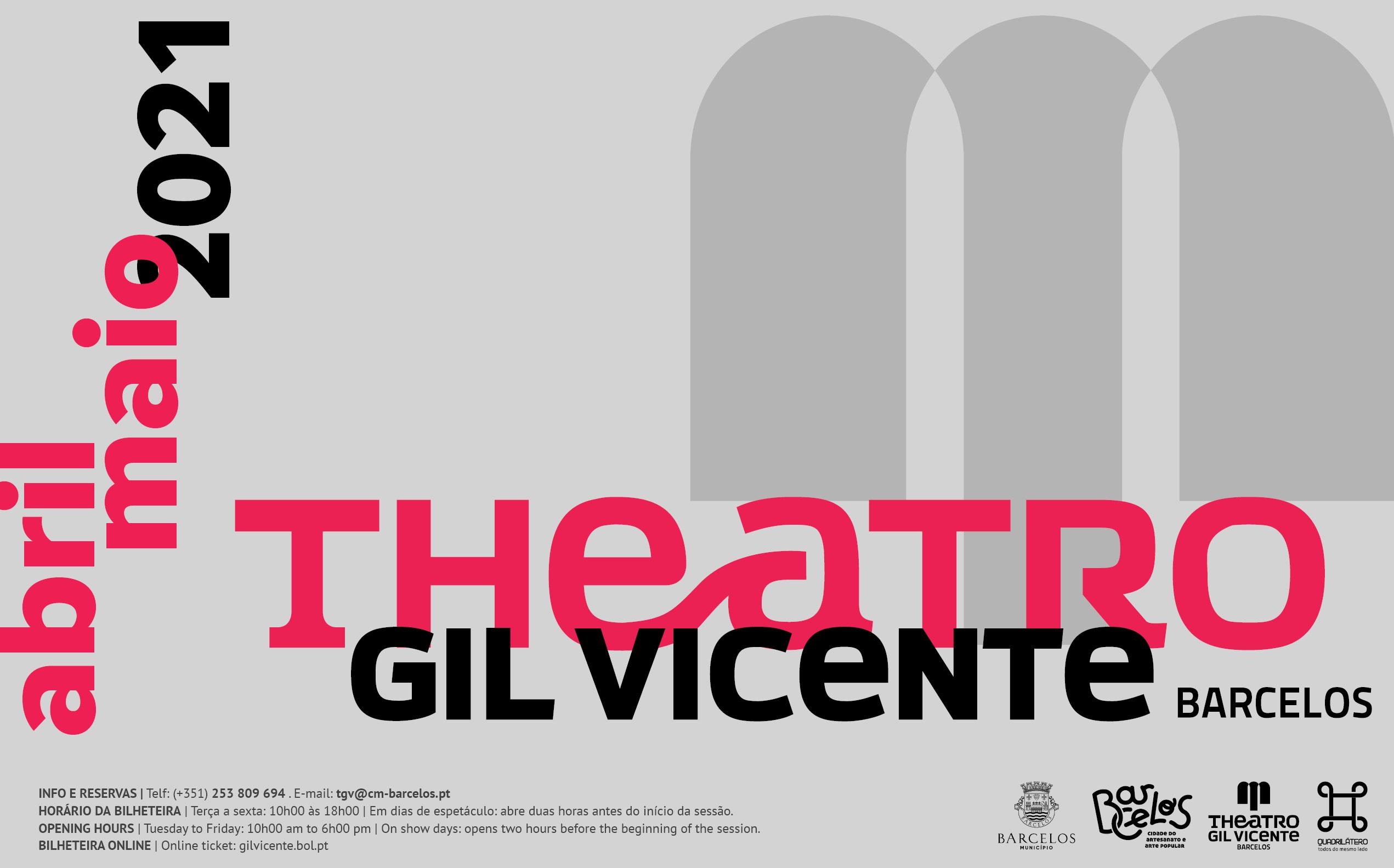Cinema, teatro e música marcam regresso da programação ao Theatro Gil Vicente