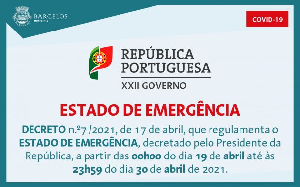 decreto n.º7/2021, de 17 de abril, que regulame...