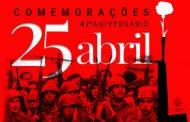 comemorações do 47º aniversário do 25 de abril ...